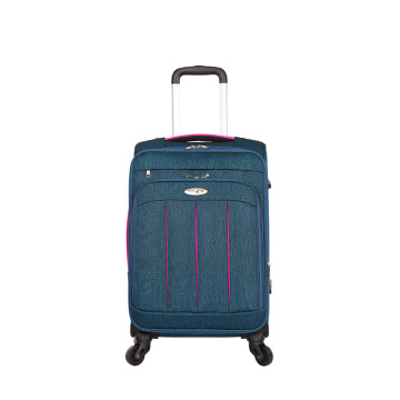 Ensembles de bagages de chariot d'avion spinner en nylon adulte