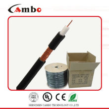 High quality cambo RG59 siamese power line CCTV cable 75ohm/50ohm with CCS/BC CE/UL/ factory/manufacturer in shenzhen/China