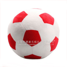 Dongguan ICTI audited toy factory children's games toy plush football, soft games toy for children