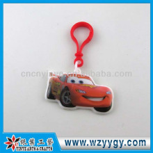 Wholesale Car Shaped PVC Film Keychain