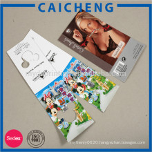 High quality full color custom printed sticker brand label