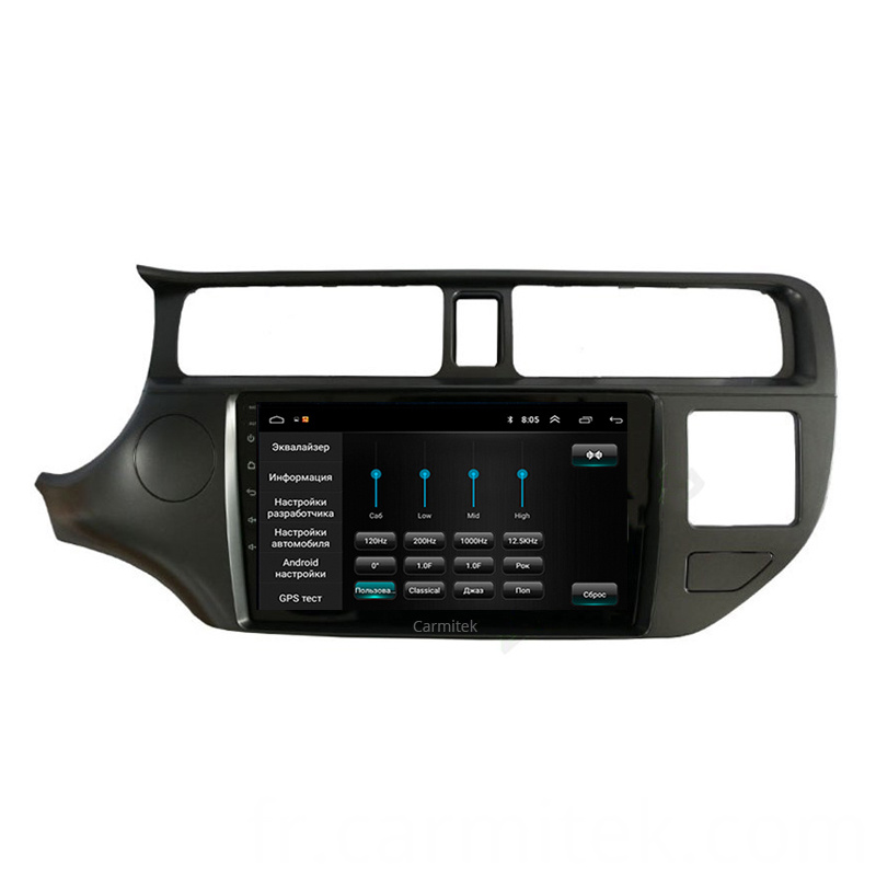 car dvd radio multimedia player for rio