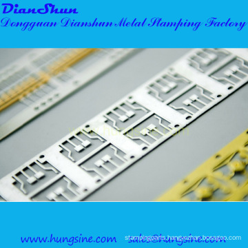 Lead Frame Stamping with Selective Plating