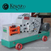 Haute qualité 50mm en acier au carbone Plain / déformé / carré / angle coupe-barre, Rebar machine de découpe GQ50