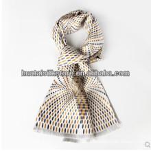 La seda del 100% posee diseño de moda para hombre corbatas