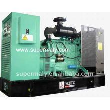 CE approved deutz generator manual