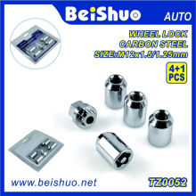 4+1 PCS/Set Wheel Lock Nut with Blister for Car Security