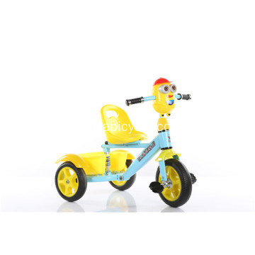 Appearance Diverse Plastic Blue Baby Tricycle