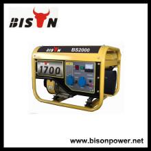 BISON (CHINA) Enfriamiento de aire 1.5kw BS2000 Generador portátil de 110 voltios