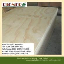 Madeira compensada de pinho de alta qualidade / madeira compensada marinha para móveis e decoração