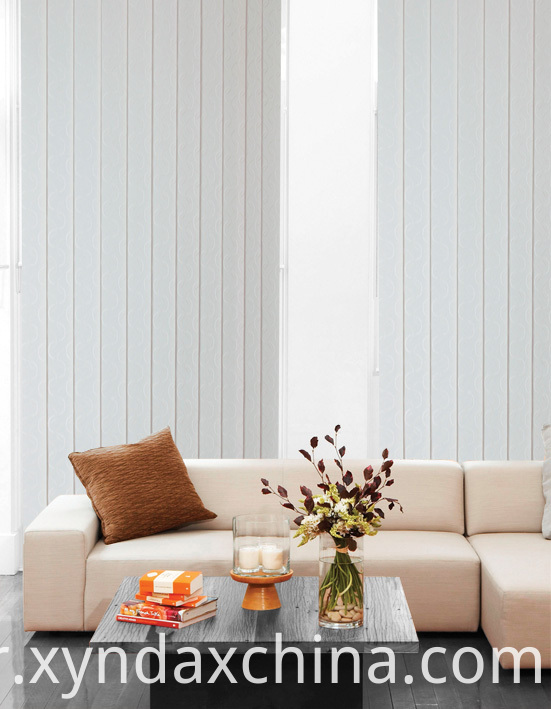89MM Fabric vertical blinds