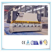 QC11Y máquina de corte de chapa de alumínio de corte de ferro, máquina de corte de pedal do braço