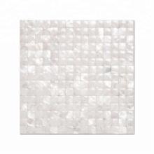 3D Luxury White Mother Of Pearl Mosaic Tile for Backsplash