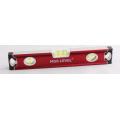 Alumínio Vermelho Nível de caixa profissional (700909)