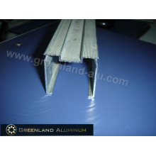 Gardinenstange aus Aluminiumprofil für Vertikaljalousien