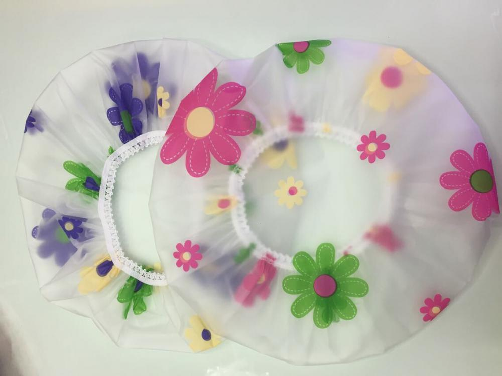Flower type Shower Cap