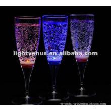 Liquid Active Flashing Champagne Glass