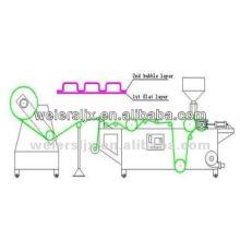 Línea de producción de película de colchón de aire PE-Línea de extrusión de plástico