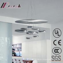 Lámpara de techo colgante interior de Chrome europeo para el hotel