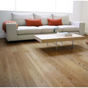 Laminado de madeira de carvalho / piso laminado 12.3mm HDF na fábrica de China
