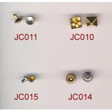 Venda quente personalizado rebite botões para roupas militares
