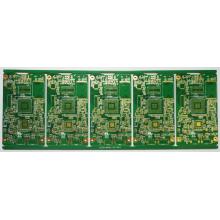 Placas de circuito impresso de produtos de segurança