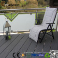 Decking al aire libre de madera del jardín al aire libre, decking plástico de madera, piso de madera