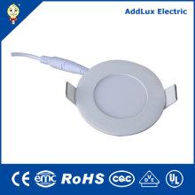 Panneau à LED ultra mince ronde 18V 220V