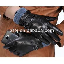 2014 Leder Iphone Handschuhe Für Touchscreen