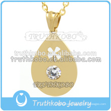 WholesaleTibet PVD Gold Hollow Teardrop Charm Pendant beaded Jewelry Findings