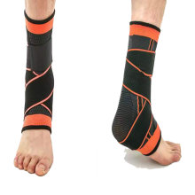 Light Weight Double Pressure Sports Support Elastic Neoprene Orthopedic Ankle Brace