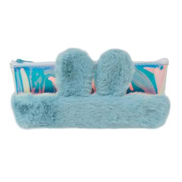 RABBIT EARS PLUSH PENCIL CASE-0