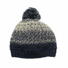 High Quality Custom POM Knitted Beanie Hat
