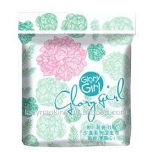 Marque hygiénique américaine respirable de serviette