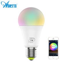 China manufacturers b22 e27 wifi smart rgb led bulb light