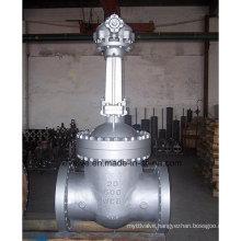 Large Diameter Cast Steel Flanged End Gate Valve