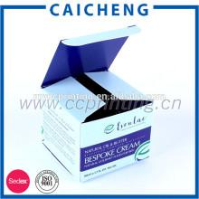 Boîte de papier cosmétique pour boîte d'emballage de gel de corps