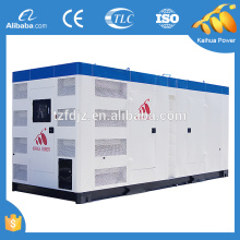 Industrial silent 800kw standby diesel generator powered by cummins diesel engine