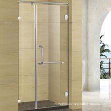 pantalla de ducha plegable del baño de cristal de la fabricación de China