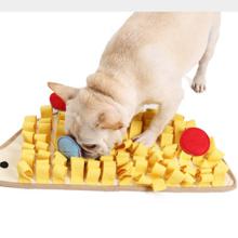 Little Hedgehog Dog Sniffing Mat Pet Training Decompression Blanket Slow Food Puzzle Game Mat