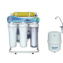 Sistema de purificador de agua de ósmosis inversa de 6 etapas con marco