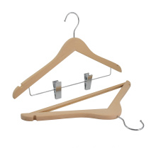 Factory Direct Sale Customized Luxury brand shop Wooded coat hangers set for display