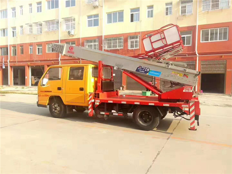 Vehicle Mounted Boom Lift 1