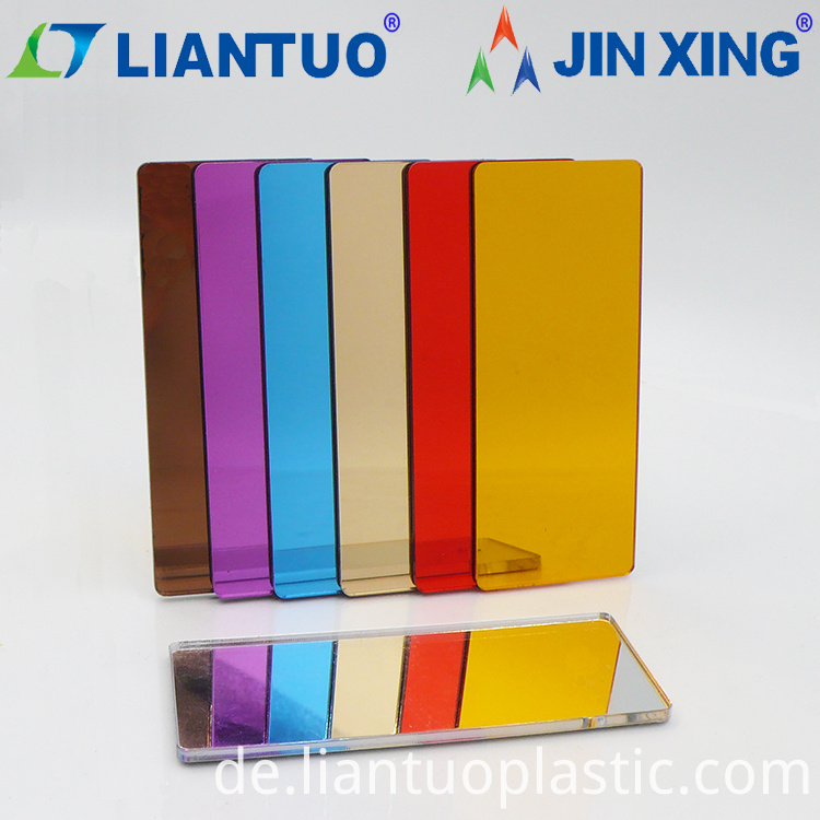1220x2440mm Flexible Mirror PMMA Acrylic Sheets
