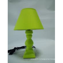 CE ROHS современная зеленая высококачественная керамическая настольная лампа для свадебного подарка