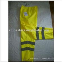 EN471 Pantalon de sécurité réfléchissant à haute visibilité