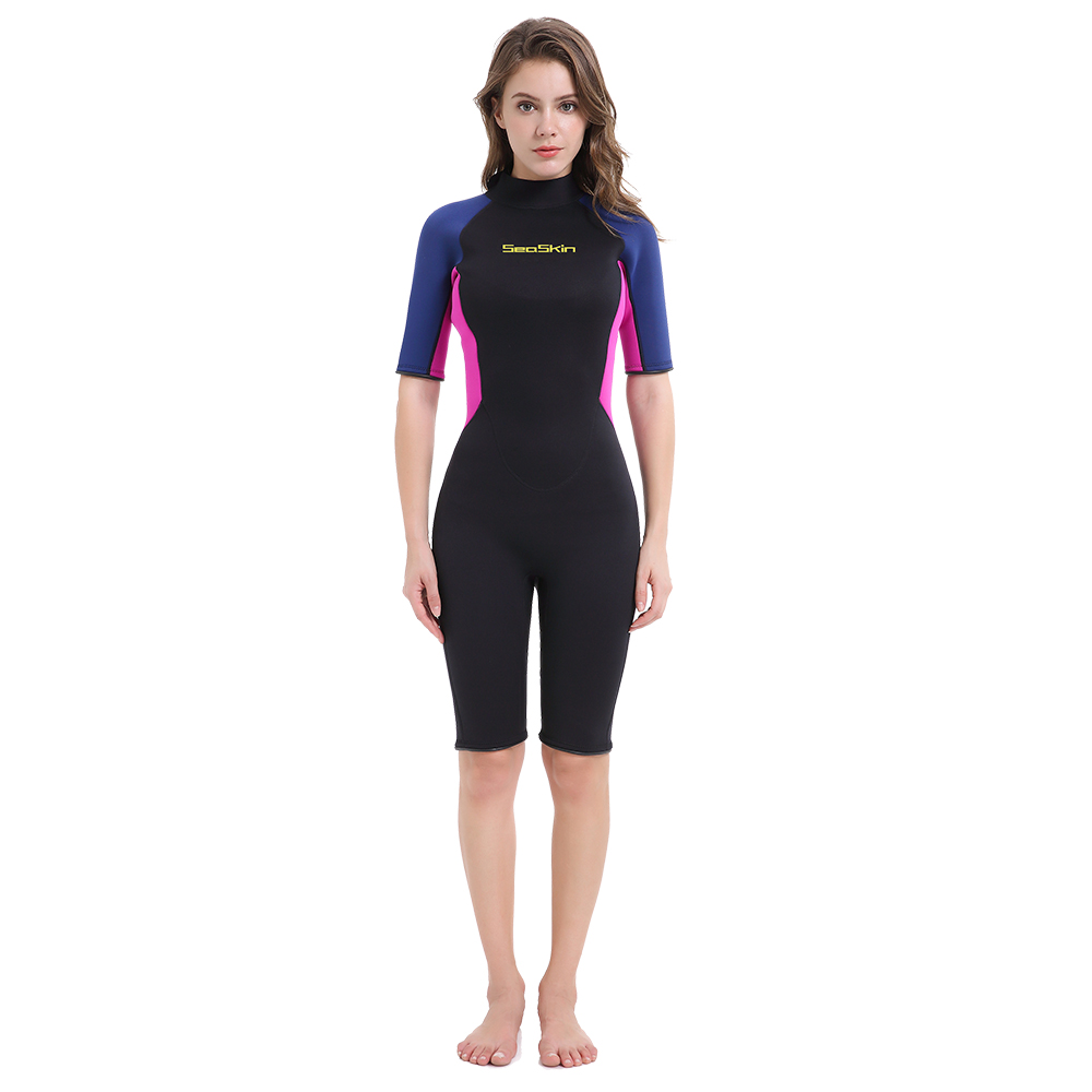 Seaskin Lady Shorty Snorkeling Wetsuit