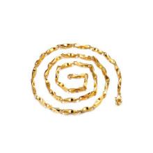 Colliers de chaîne mince pour les hommes, bijoux uniques de collier de chaîne de cuivre