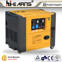 Générateur diesel à modèle silencieux 5kw (DG6500SE)