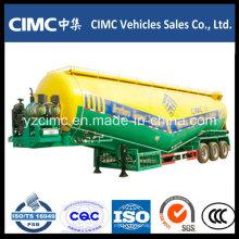 Cimc 3 Ejes Remolque de cemento Bulker de 65 toneladas